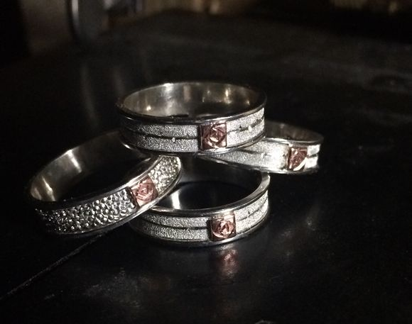 New Rose rings