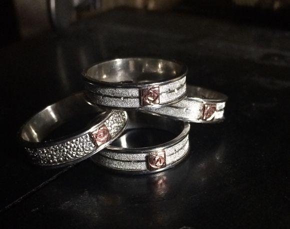 New Rose rings